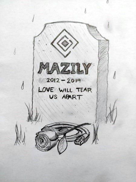 Mazily dödsruna